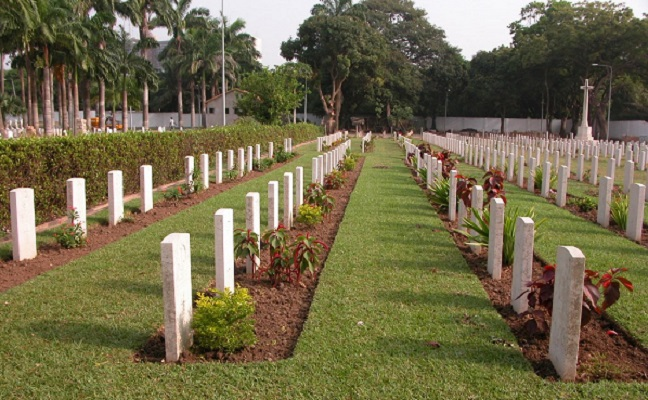 File photo: Military Cemetery at Osu